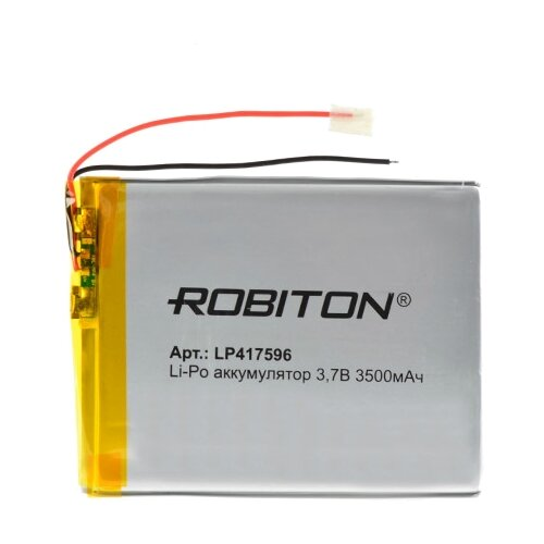 Фото - Аккумулятор ROBITON LP417596 аккумулятор robiton lp501335