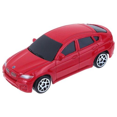 Купить Внедорожник RMZ City BMW X6 (344002S) 1:64 7.6 см красный, Машинки и техника