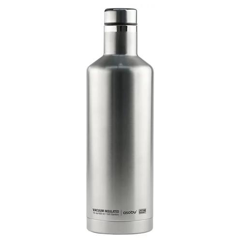 Термобутылка Asobu Times square travel bottle, 0.45 л silver