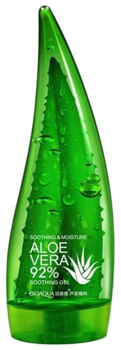 Гель для тела BioAqua Aloe Vera 92% Soothing Gel Увлажняющий гель с натуральным соком алоэ для лица и тела — 8 предложений — купить по выгодной цене на Яндекс.Маркете
