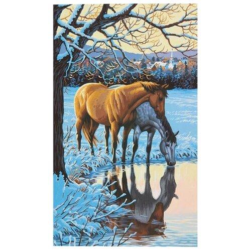 Купить Dimensions Картина по номерам Размышления 31х51 см (DMS-73-91492), Картины по номерам и контурам