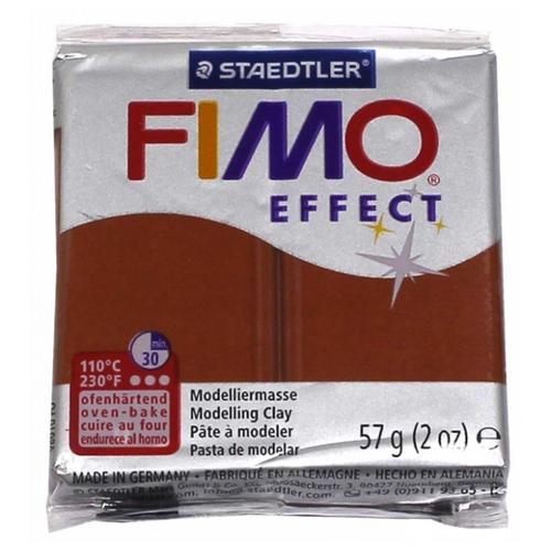 Полимерная глина FIMO Effect запекаемая медный металлик (8020-27), 57 г