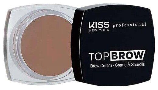 Kiss New York Professional Помада для бровей Top Brow 04, dark brown