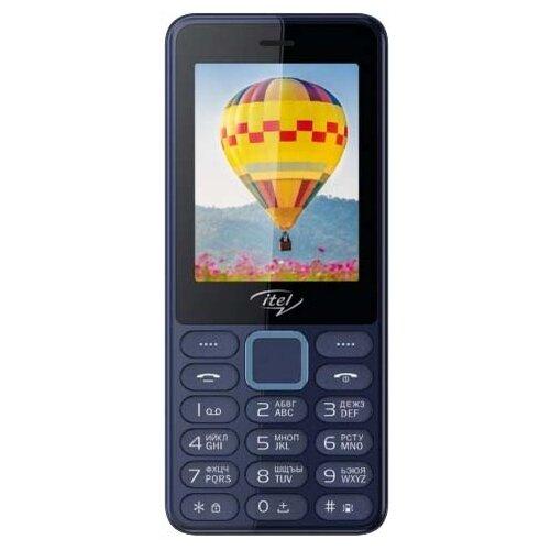 Телефон Itel it5022 синий мобильный телефон itel it5022 красный
