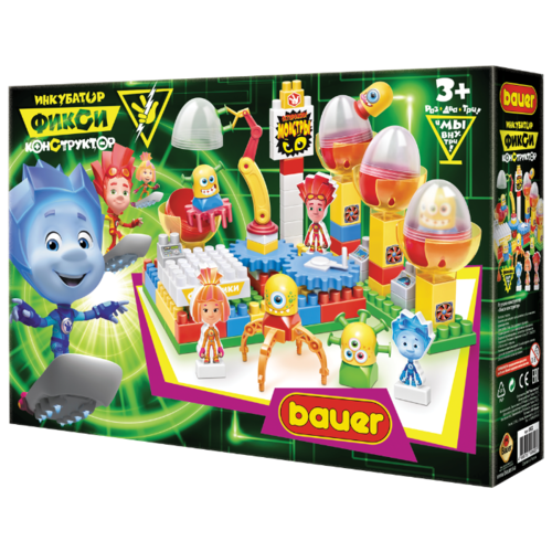 Конструктор Bauer Фиксики 602 Инкубатор конструктор bauer bauer mp002xc00by6