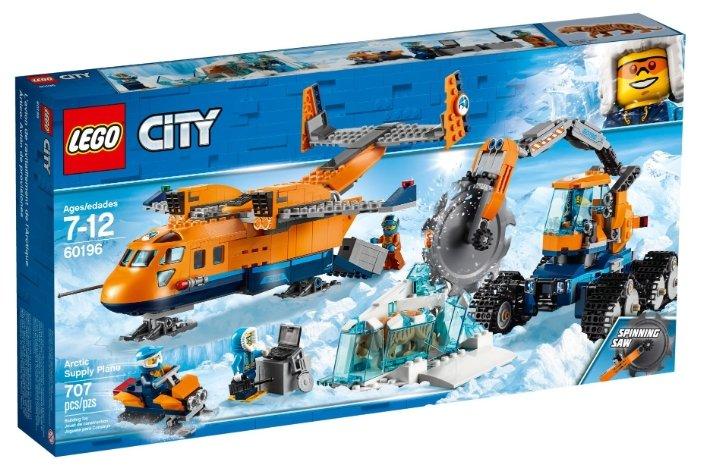 Конструктор LEGO City 60196 Арктический грузовой самолёт