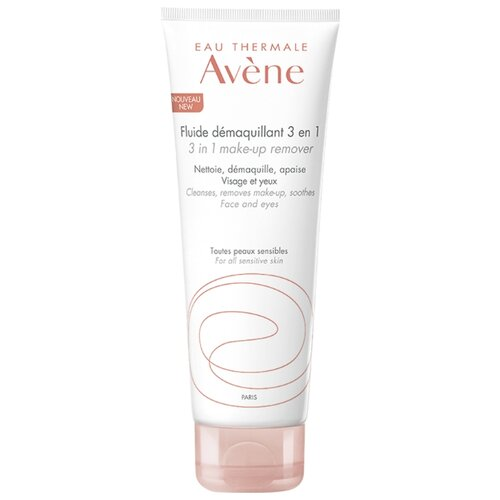 AVENE флюид для снятия макияжа 3 в 1, 200 мл avene флюид для снятия макияжа 3 в1