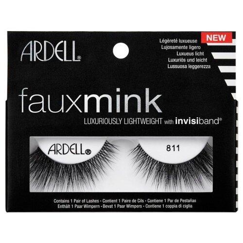 Ardell накладные ресницы Faux Mink 811 черный