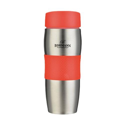 Термокружка Bohmann ВН-4456, 0.375 л красный