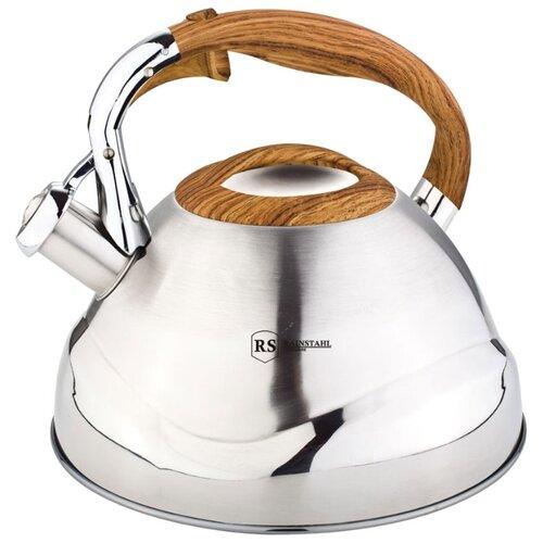 Rainstahl Чайник 7607-30RS\WK 3 л, оранжевый rainstahl чайник 7625 30rs wk 3 л стальной черный