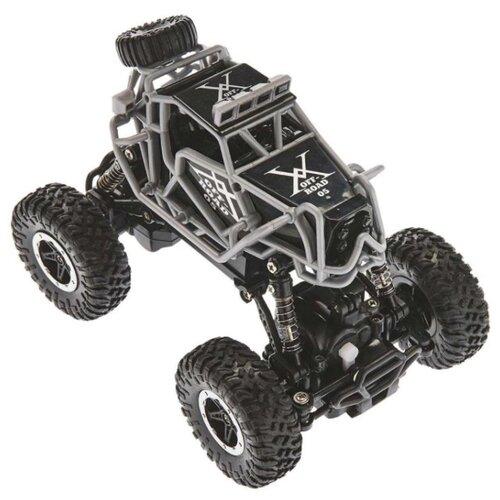 Купить Гоночная машина 1 TOY Драйв (Т10948) 1:43 17 см черный/серый, Радиоуправляемые игрушки