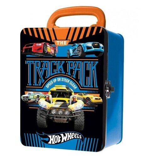 Кейс Mattel Hot Wheels для хранения 18 машинок синий mattel набор машинок hot wheels юбилейный выпуск 5 штук
