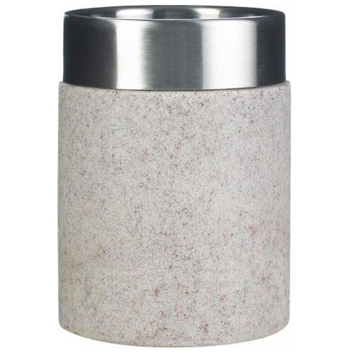 Стакан для зубных щеток RIDDER Stone бежевыйМыльницы, стаканы и дозаторы<br>
