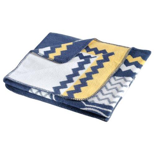 Купить Плед KARNA BIRD 90X120 см синий, Покрывала, подушки, одеяла