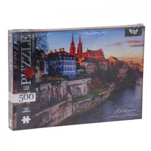 Купить Пазл Danko Toys Старый город (C500-10-01), элементов: 500 шт., Пазлы