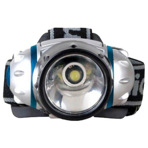 цена на Налобный фонарь Camelion LED5315-1WF3 серебряный