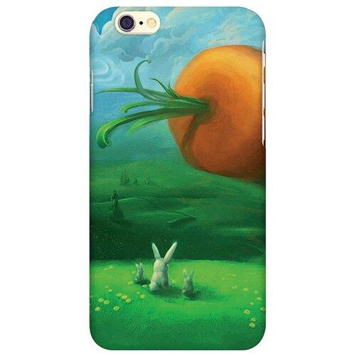 Чехол Mitya Veselkov IP6.МITYA-006 для Apple iPhone 6/iPhone 6S заяц и морковкаЧехлы<br>