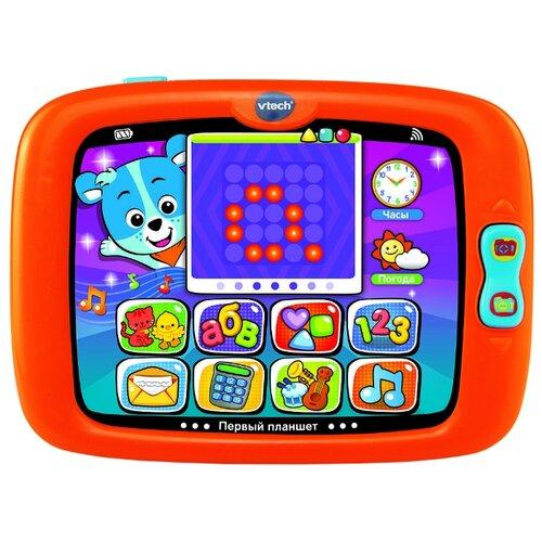 Планшет VTech Первый планшет оранжевый/зеленый планшет
