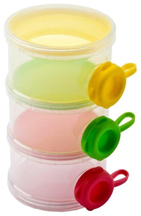BRADEX Трехслойный контейнер с боковыми отверстиями для пищевых сыпучих продуктов