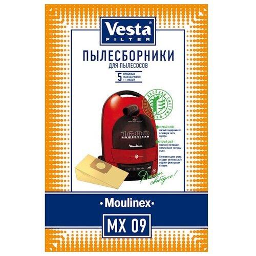 Vesta filter Бумажные пылесборники MX 09 5 шт.
