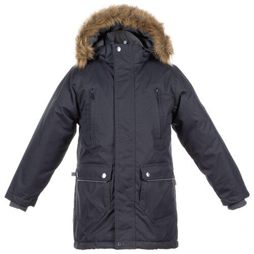 Парка Huppa Vesper 17480030 размер 116, 00018, dark gray куртка huppa isla 17820020 размер 116 73320 white pattern gray