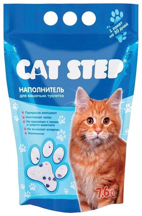 Наполнитель Cat Step Силикагелевый (7.6 л)