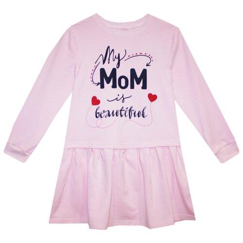 Купить Платье KotMarKot размер 116, розовый, Платья и сарафаны