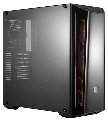 Cooler Master Компьютерный корпус Cooler Master MasterBox MB520 (MCB-B520-KANN-S00) Black/red