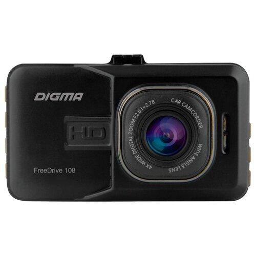 Видеорегистратор DIGMA FreeDrive 108 черный цена 2017