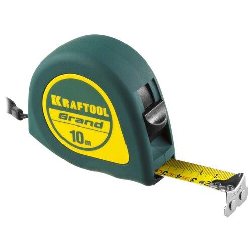 Фото - Измерительная рулетка Kraftool 34022-10-25 25 мм x 10 м измерительная рулетка энкор рф2 10 25 25 мм x 10 м