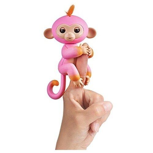 Купить Интерактивная игрушка робот WowWee Fingerlings Ручная обезьянка Двухцветная Саммер, Роботы и трансформеры