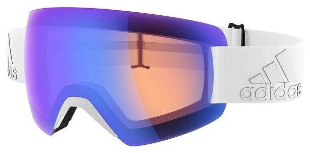Маска adidas Progressor Splite Matt Raw Steel/Blue Mirror