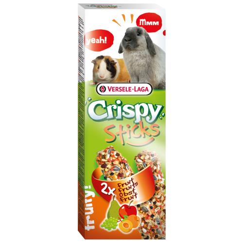 Лакомство для кроликов, грызунов Versele-Laga Crispy Sticks с фруктами 110 гЛакомства для грызунов<br>