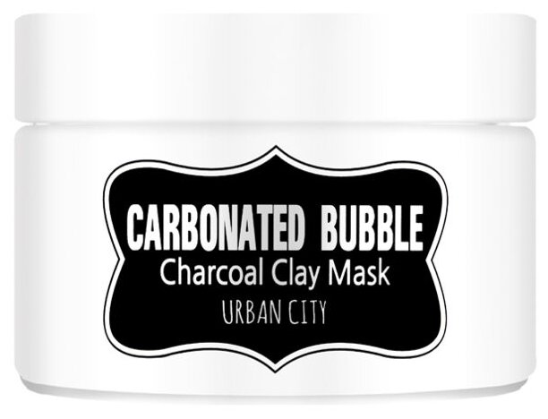 Urban Dollkiss глиняно пузырьковая маска с угольным
