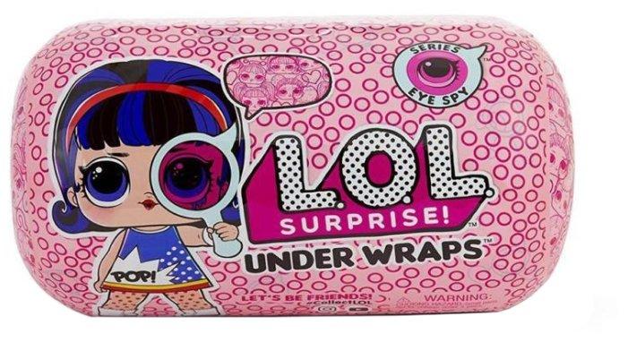 Кукла-сюрприз MGA Entertainment в капсуле LOL Surprise Under Wraps, 552048