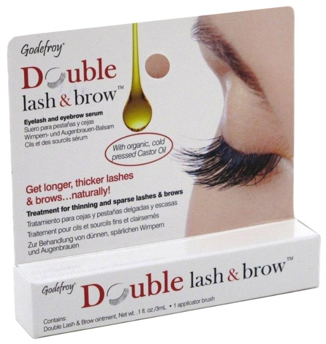 Godefroy Сыворотка для бровей и ресниц Double Lash & Brow
