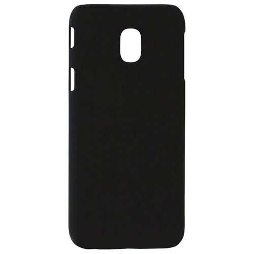 цена Чехол Volare Rosso Soft-touch для Samsung Galaxy J3 2017 (пластик) черный онлайн в 2017 году