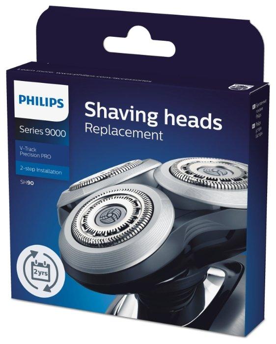 режущий блок и сетка SH90 для Электробритвы Philips S9151/S9031/S9041/S9181/S9161 (3шт)