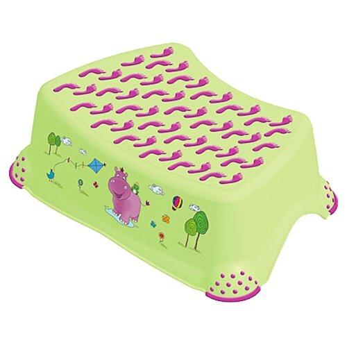 Купить Подставка для ног OKT Гиппопотамчик зеленый, OKT (Keeeper), Сиденья, подставки, горки