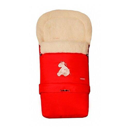 Конверт-мешок Womar Multi Arctic в коляску 83 см 4/1 красныйКонверты и спальные мешки<br>