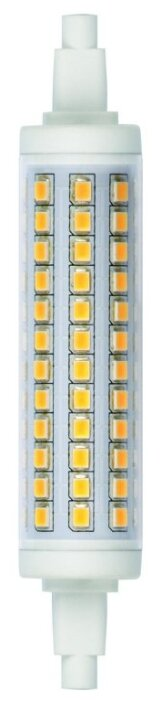 Led-j118-12w/ww/r7s/cl plz06wh лампа светодиодная. прозрачная. теплый белый свет. картон. тм uniel.
