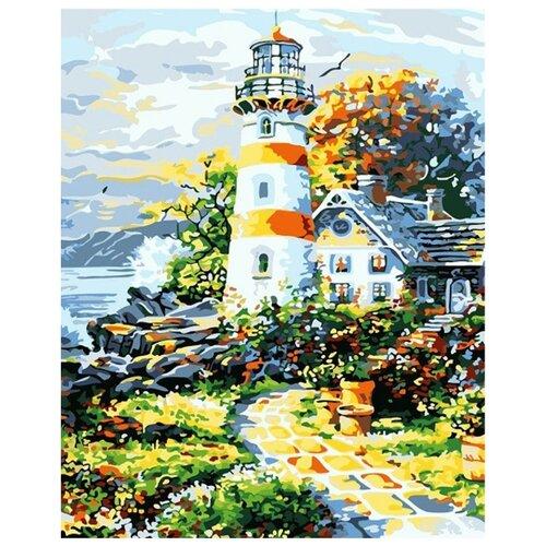 Купить Мосфа Картина по номерам Старый маяк 40х50 см (7С-0021), Картины по номерам и контурам