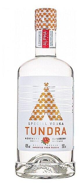 Водка Tundra Северная морошка, 0.5 л