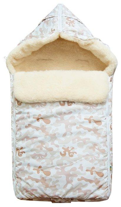 Конверт-мешок Сонный Гномик Акита в коляску 85 см