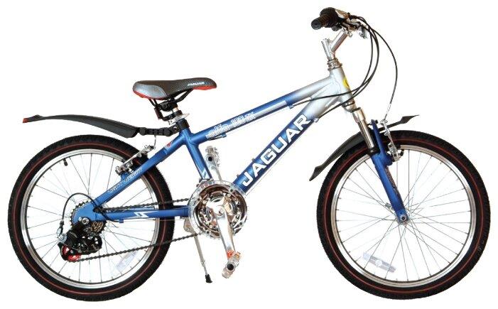 Подростковый горный (MTB) велосипед JAGUAR MS-Alfa 20-18S фиолетовый (требует финальной сборки)