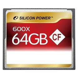 Карта памяти Silicon Power 600X Professional Compact Flash Card 64GB