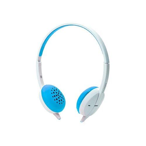 Наушники HARPER HN-300 голубойНаушники и Bluetooth-гарнитуры<br>
