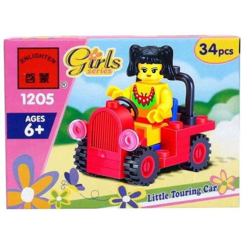 Конструктор Qman Girls 1205 Девочка в автомобиле