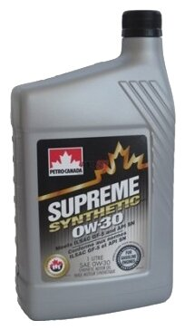 Petro-Canada Supreme Synthetic 0W-30 1 л