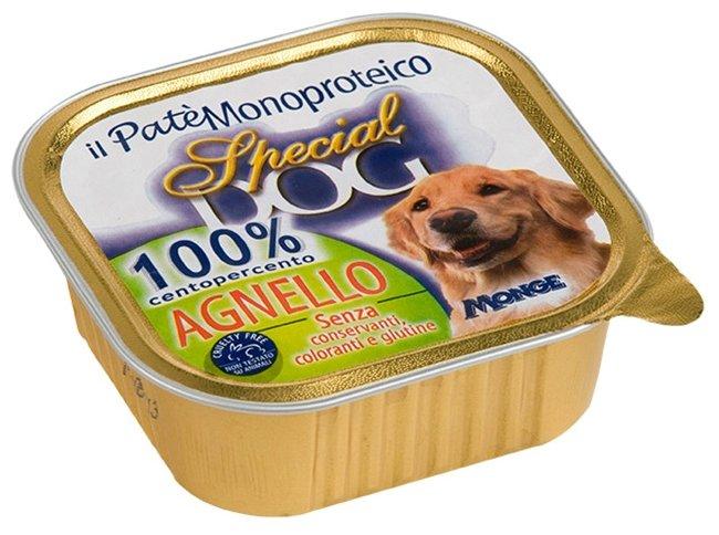 Корм для собак Special Dog Паштет из 100% мяса Ягненка (0.300 кг) 18 шт.
